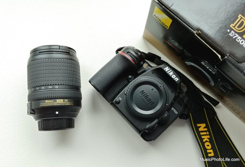 Nikon D7500 and 18-140mm lens