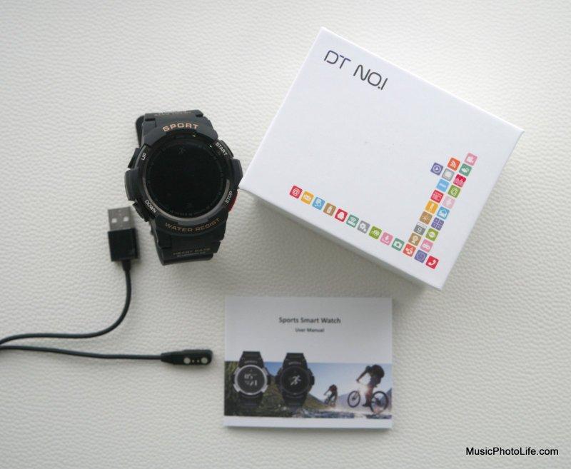 DT NO.1 F6 (KKtick) Smartwatch unboxing
