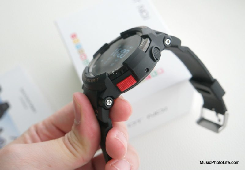 NO.1 F6 Smartwatch side view