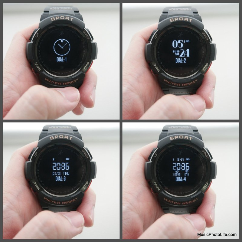NO.1 F6 Smartwatch display options
