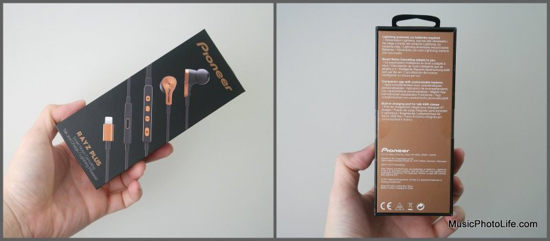 Pioneer Rayz Plus Smart Noise Cancelling Earphones for iPhones review by musicphotolife.com