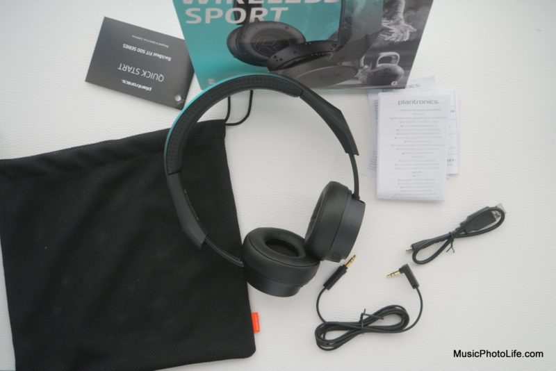 Plantronics BackBeat FIT 505 unboxing
