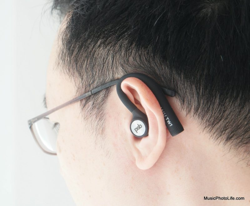 PSB Speakers M4U TW1 true wireless earphones review by musicphotolife.com