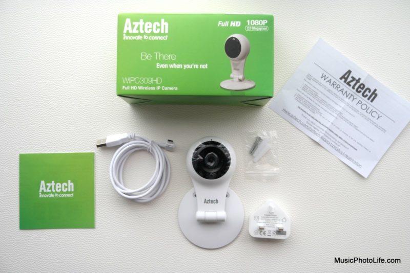 Aztech WIPC309HD IP Webcam unboxing