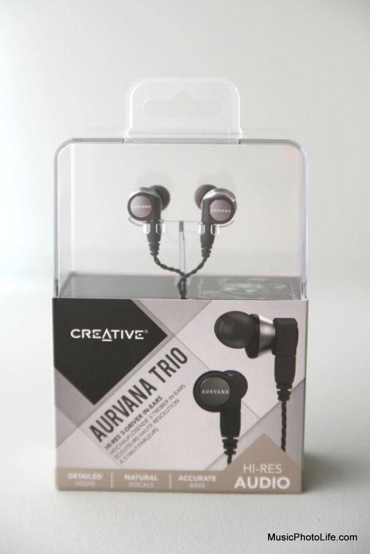 Creative Aurvana Trio retail box
