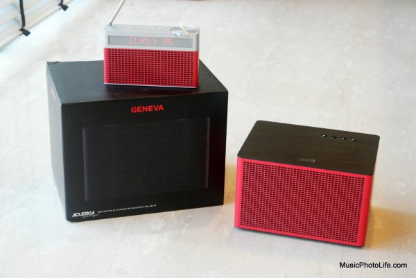 Geneva Lab Acustica/Lounge Bluetooth Speaker review by musicphotolife.com