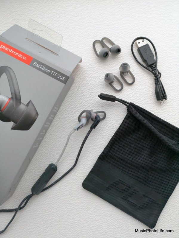 Plantronics BackBeat FIT 305 unboxing by musicphotolife.com