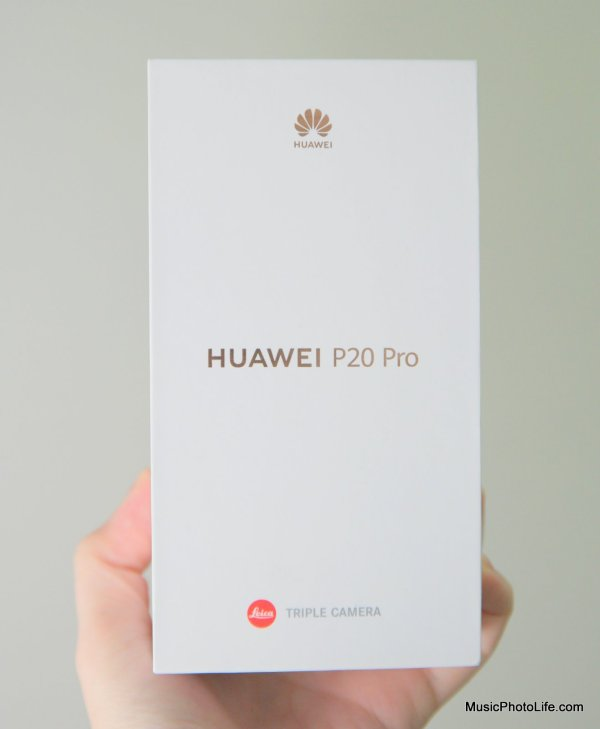 Huawei P20 Pro review by musicphotolife.com