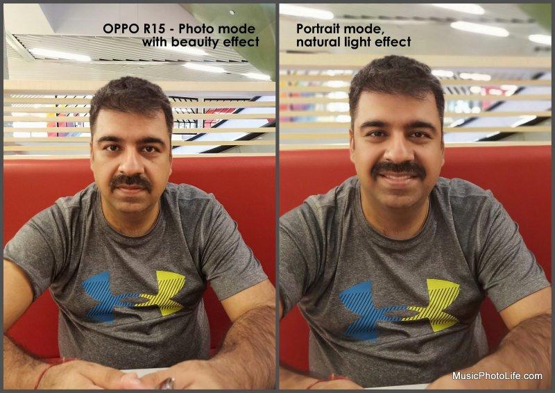 OPPO R15 photo sample - portrait