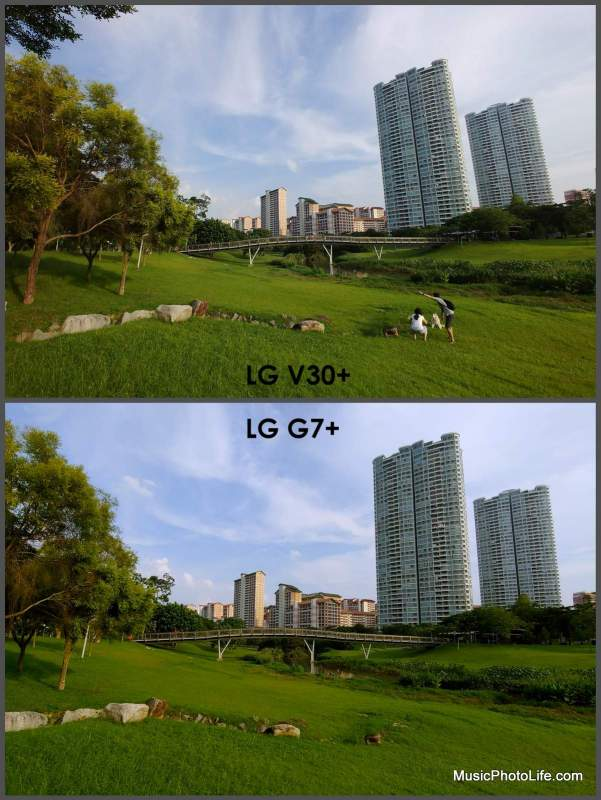 Compare LG G7+ with V30+