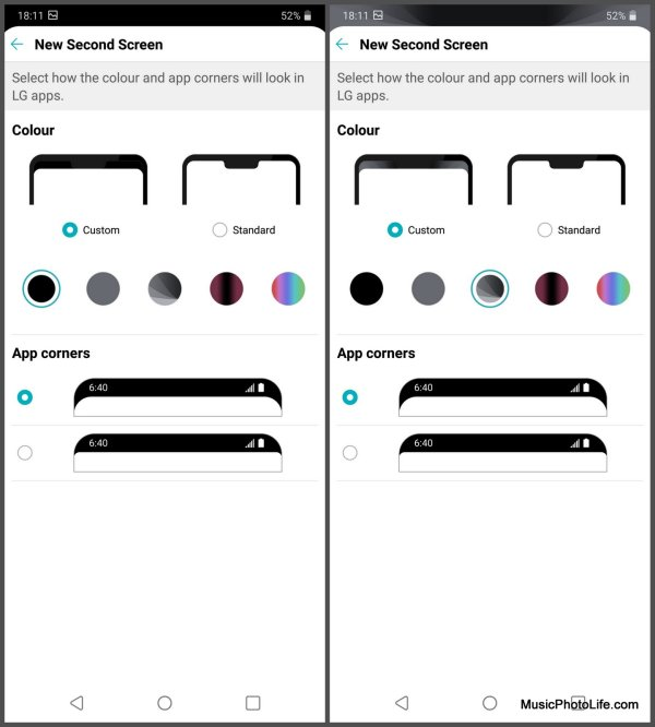 LG G7+ ThinQ New Second Screen Notch