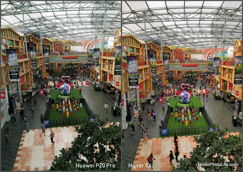 Compare Huawei P20 Pro vs. Honor 10 - Resorts World Sentosa