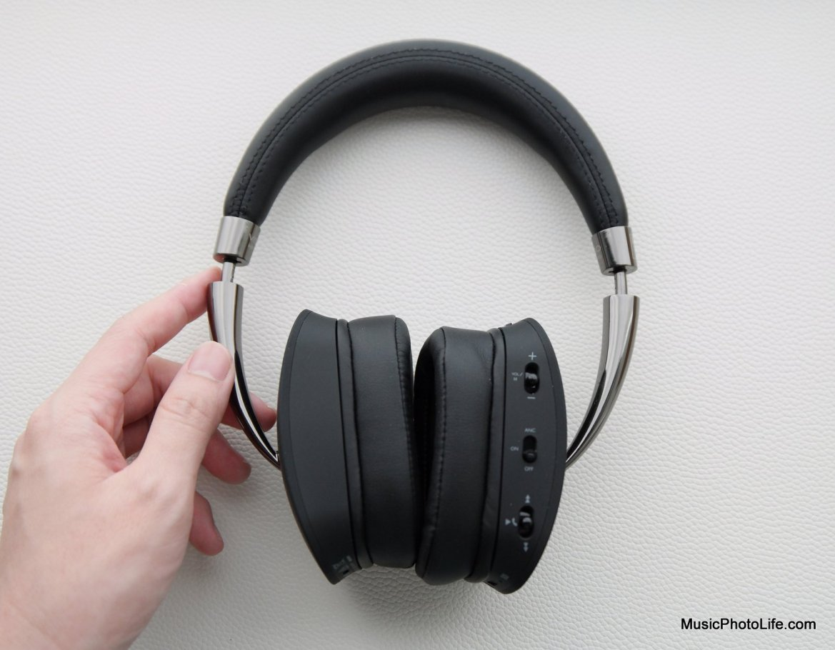 NAD VISO HP70 ANC Headphones review by musicphotolife.com