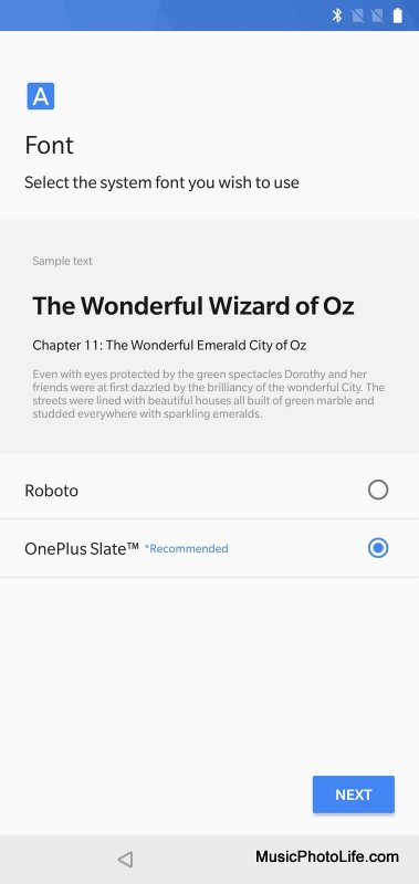 OnePlus 6 Font