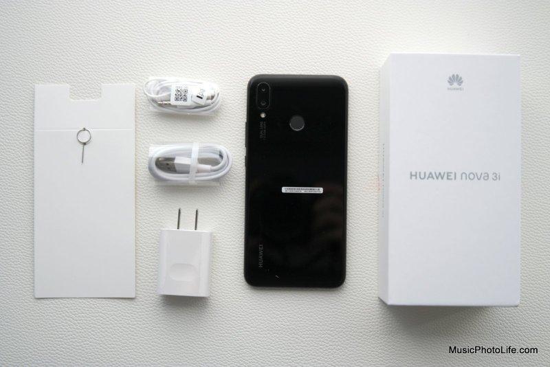 Huawei Nova 3i unboxing review by Singapore consumer tech blogger Chester Tan musicphotolife.com