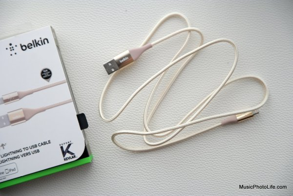 Belkin Mixit DuraTek Lightning to USB Cable by musicphotolife.com, consumer product review blog in Singapore