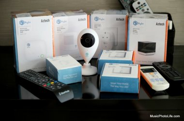 Aztech Kyla Smart Home review by musicphotolife.com, Singapore tech gadget blog