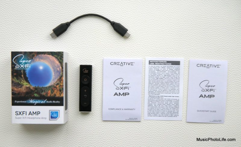 Creative Super X-Fi Amp unboxing review by musicphotolife.com, Singapore consumer audio blog