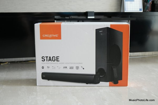 Creative Stage Review by musicphotolife.com, Singapore consumer home product blogger