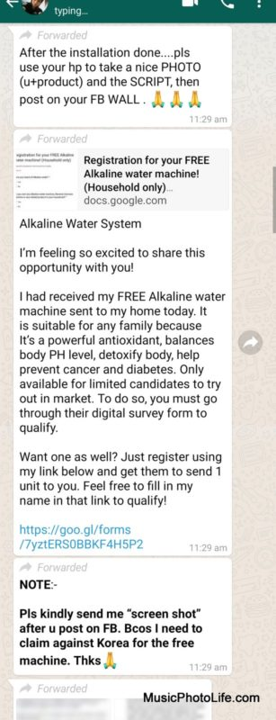 Eight Stars Alkaline Water System