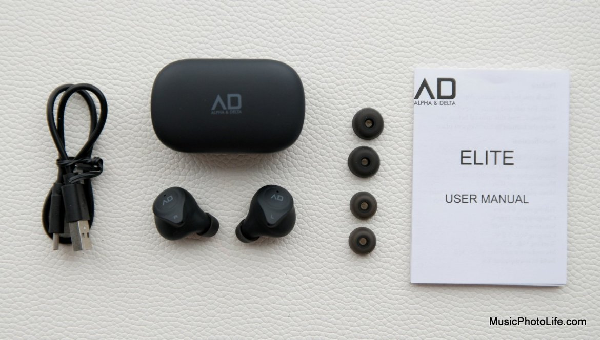 Alpha & Delta Elite True Wireless Earphones unboxing