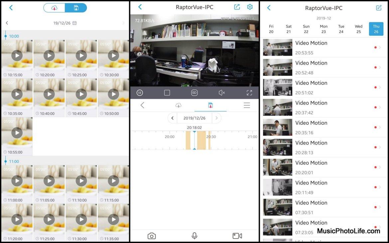 Aztech RaptorVue app
