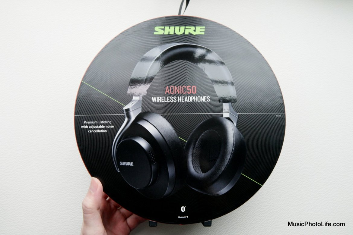Shure Aonic 50 review by Music Photo Life, Singapore tech blog