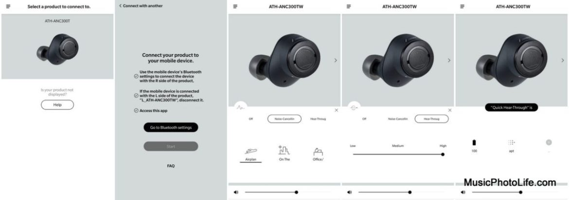 Audio-Technica Connect app review by Music Photo Life, Singapore tech blog