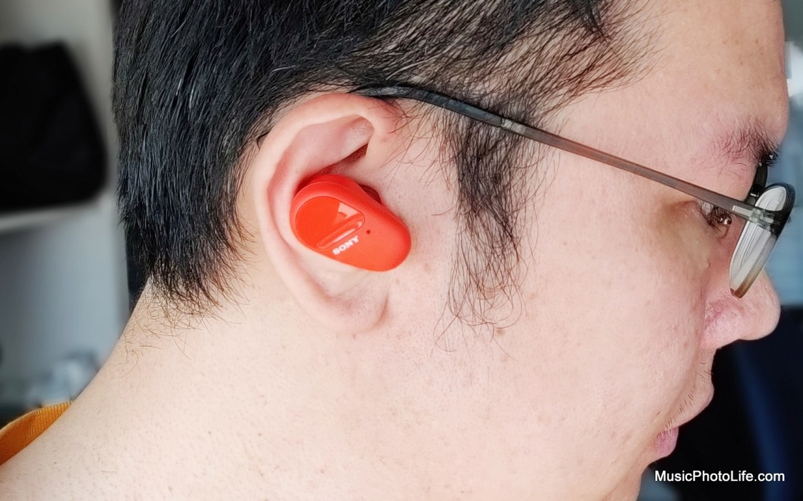 Sony WF-SP800N True Wireless Noise Cancelling Earbuds Review by Music Photo Life