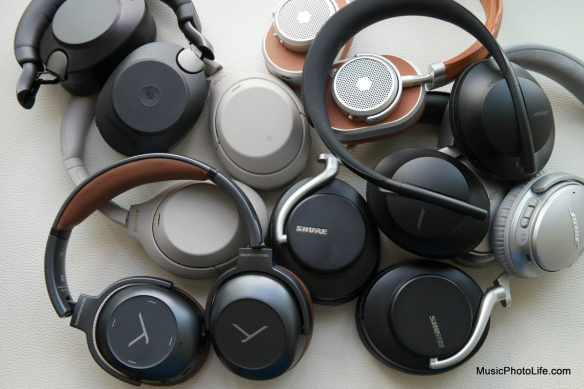 The Best ANC Headphones launched in 2019 and 2020 compared by Music Photo Life, Singapore tech blog