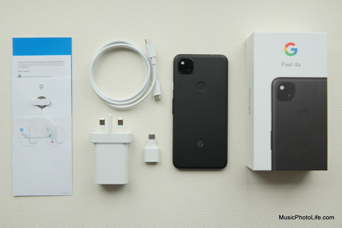 Google Pixel 4a review by Music Photo Life, Singapore tech blog