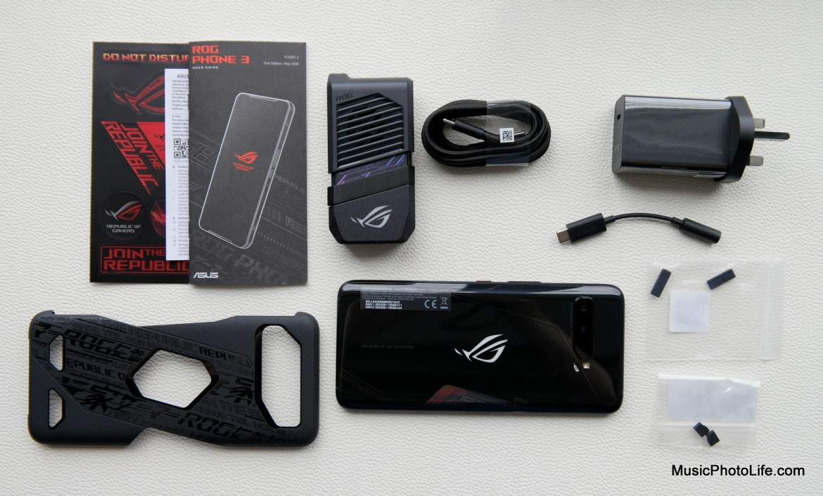 ASUS ROG Phone 3 Review by Music Photo Life, Singapore tech blog