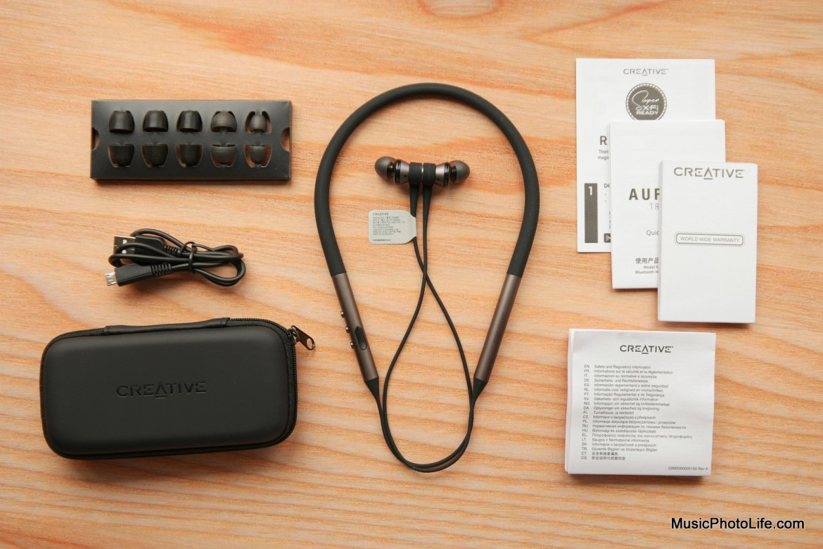 Creative Aurvana Trio Wireless review by Music Photo Life, Singapore tech blog