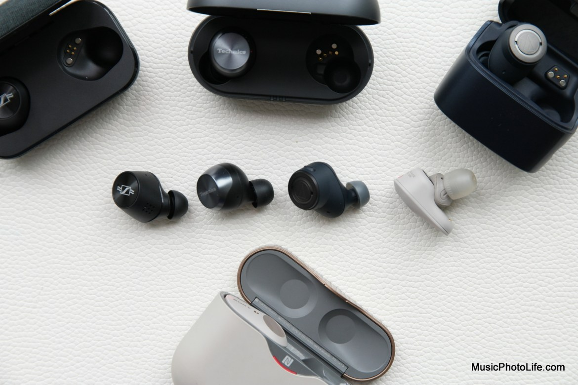 Technics AZ70 compares with other ANC earbuds by Music Photo Life, Singapore tech blog