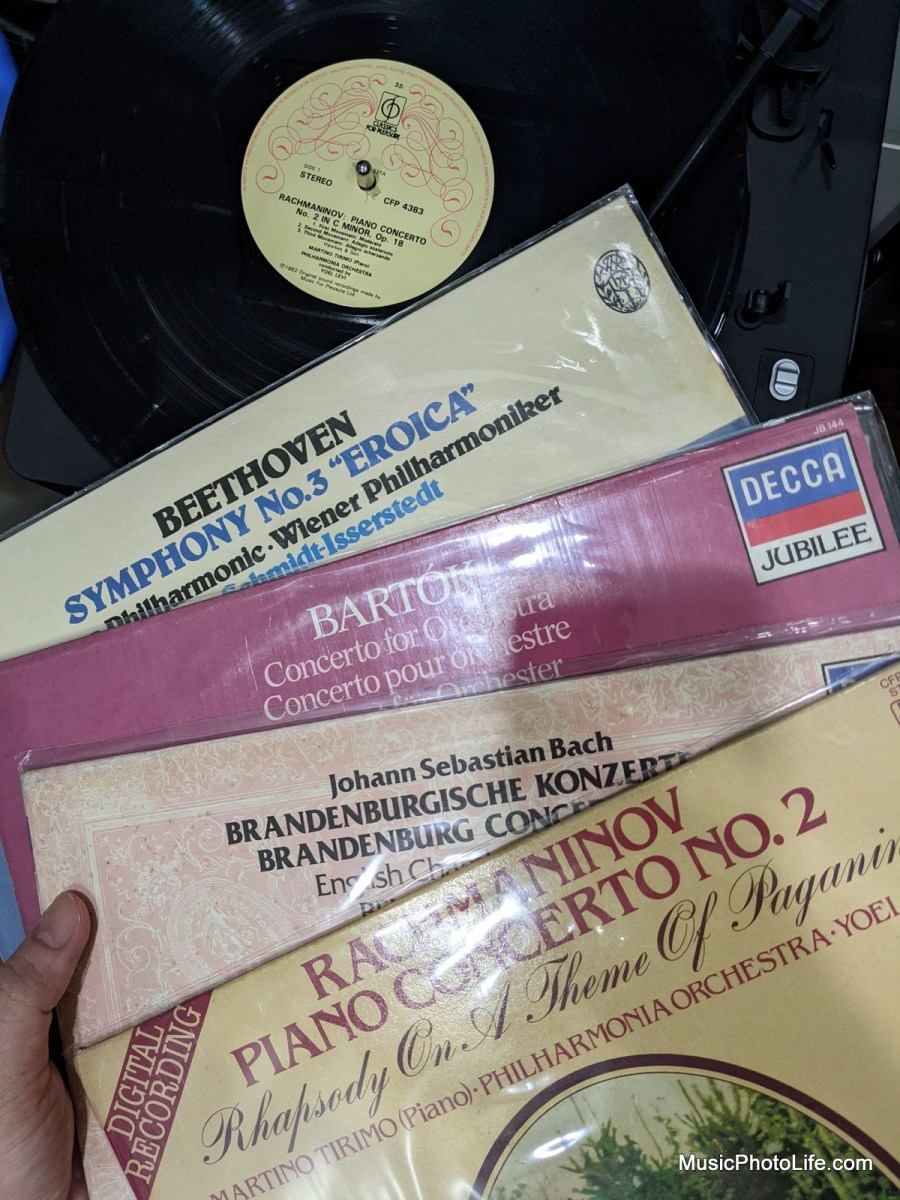 Classical vinyl collection
