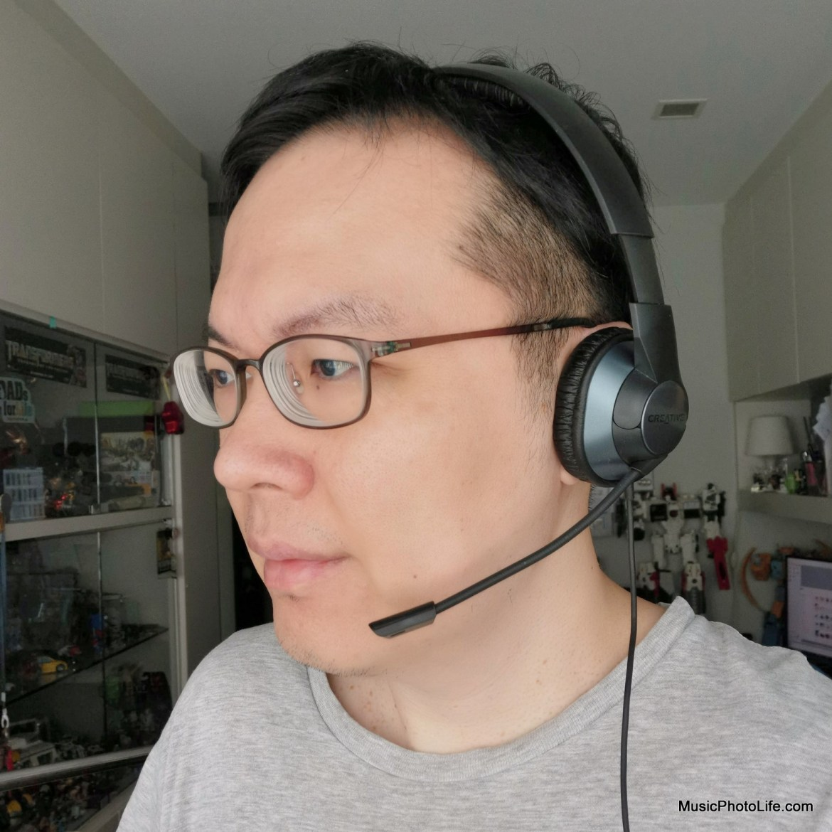 Creative HS-720 V2 USB headset review by Music Photo Life, Singapore tech blog
