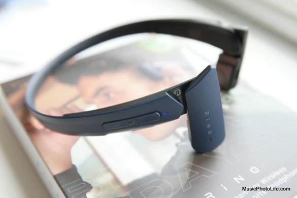 Mu6 Ring wireless air conduction headphones review by Music Photo Life, Singapore tech blog