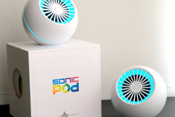 SonicGear SoncPod review by Music Photo Life, Singapore tech blog