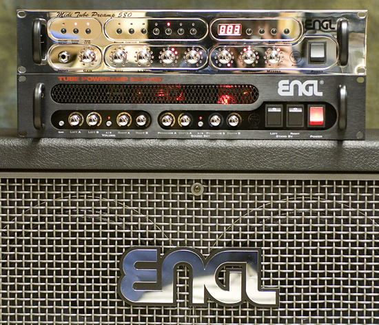 MusicPlayerscom Reviews  Guitars  ENGL E580 MIDI Tube