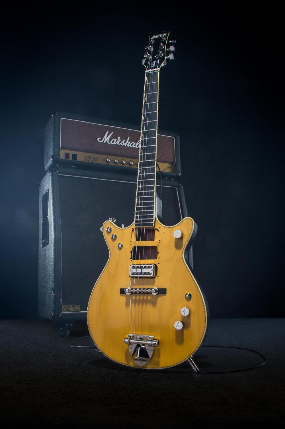 medium resolution of gretsch honors malcolm young with signature jet