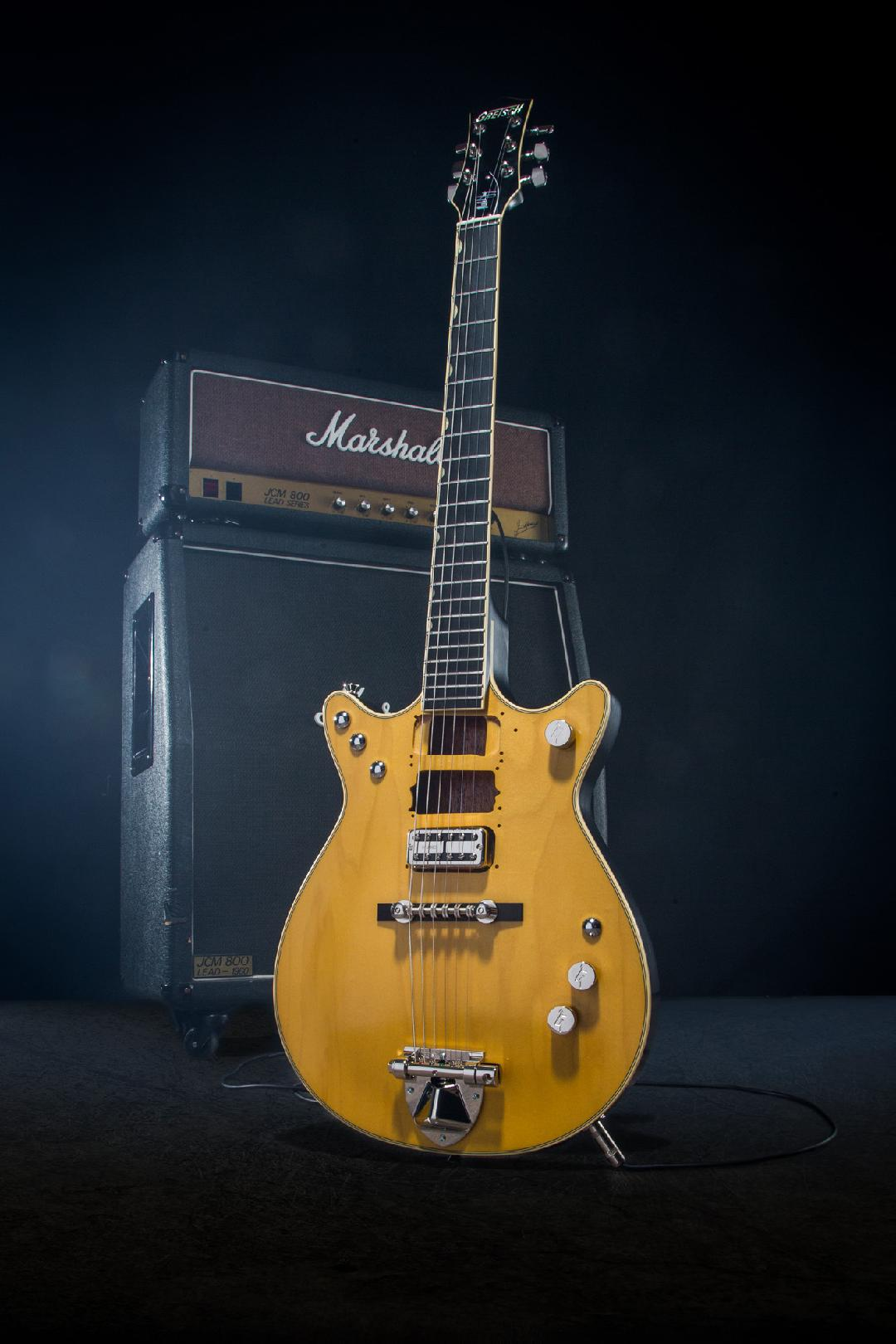 hight resolution of gretsch honors malcolm young with signature jet