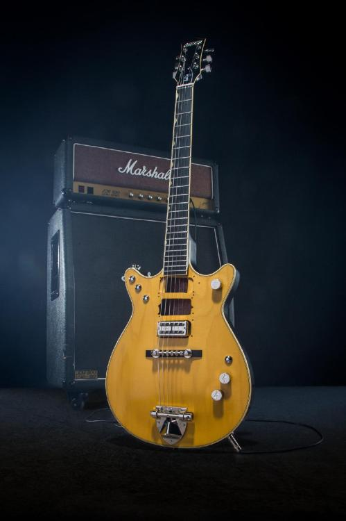 small resolution of gretsch honors malcolm young with signature jet
