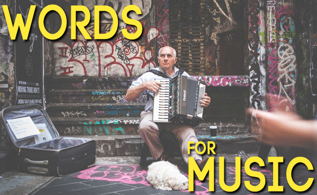 10 words to describe music