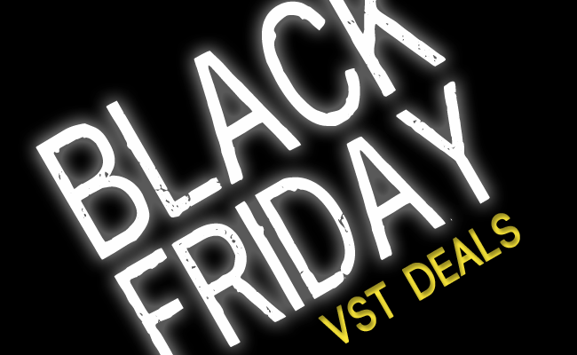 black friday vst plugin deals