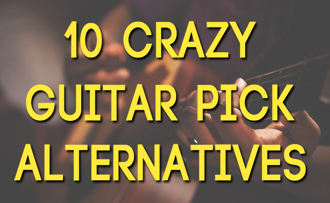 guitar pick alternatives
