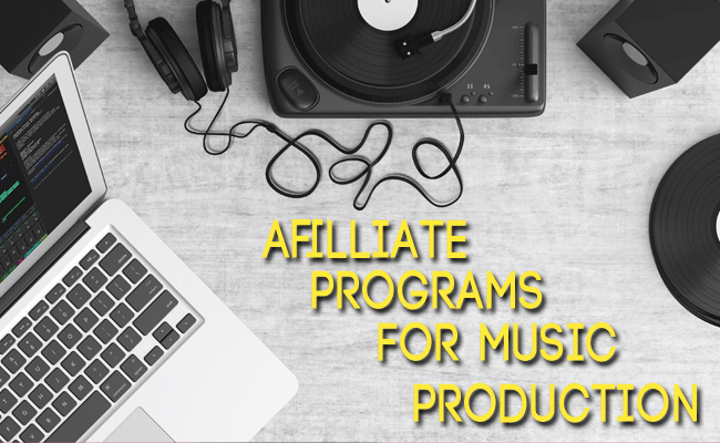 affiliate programs for music production