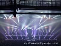 Closing credits at the concert, and the spectacular Shinhwa emblem.