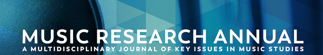 Music Research Annual