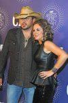 Jason Aldean with wife Jessica
