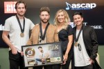 """Chris Lane, """"Fix"""" Songwriters Get Together For No. 1 Party"""